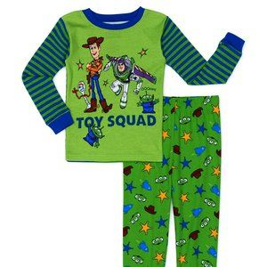 Toy Story Toddler Boys Snug Fit Cotton Long Sleeve